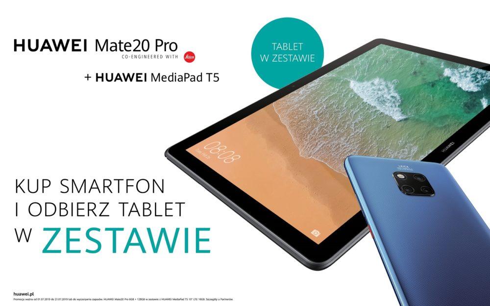 Zmieniona grafika Mate20 Pro + T5 10 BUNDLE
