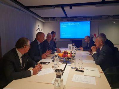 Minister cyfryzacji w Sztokholmie: 5G to gwarancja konkurencyjności naszych przedsiębiorstw