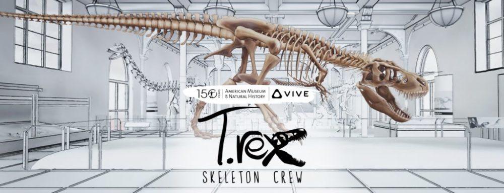Kolejna polska aplikacja VR zachwyca świat - poznaj T-Rexa twarzą w twarz, dzięki współpracy nowojorskim Muzeum Historii Naturalnej