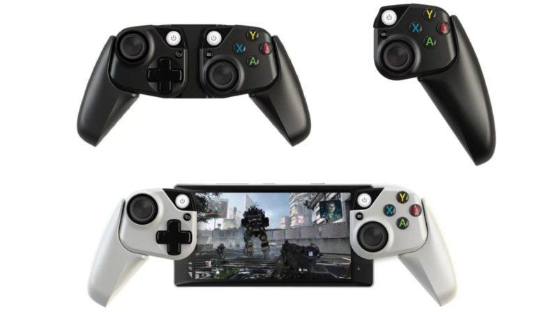 Firma Microsoft przedstawiła eksperymentalny gamepad dla smartfonów