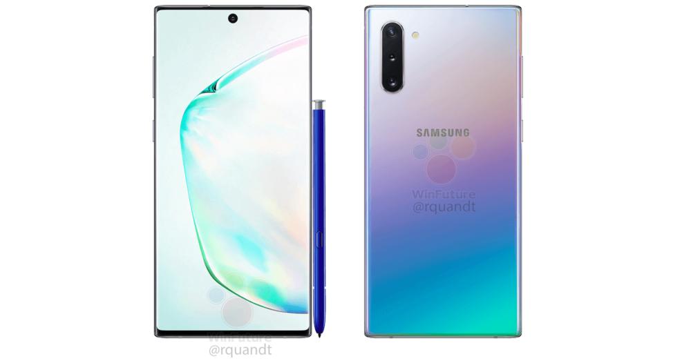 Samsung Galaxy Note10: pojawiły się oficjalne zdjęcia smartfona