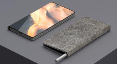 W internecie pojawiła się koncepcja składanego komputera Microsoft Surface Note