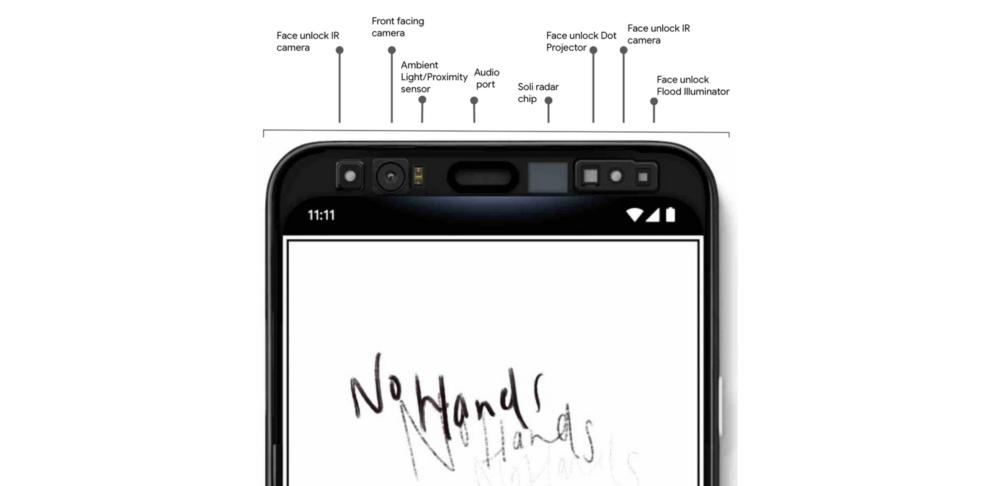 Google pokazała skaner twarzy i bezdotykowe sterowanie w Pixel 4