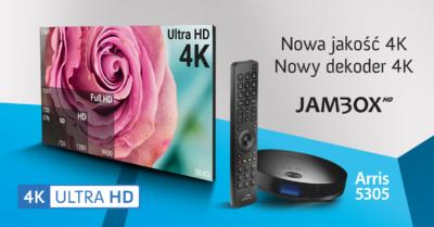 JAMBOX z ofertą 4K