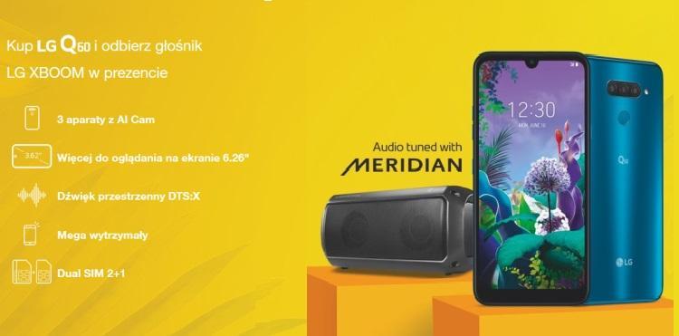 LG Q60 z głośnikiem XBOOM w prezencie
