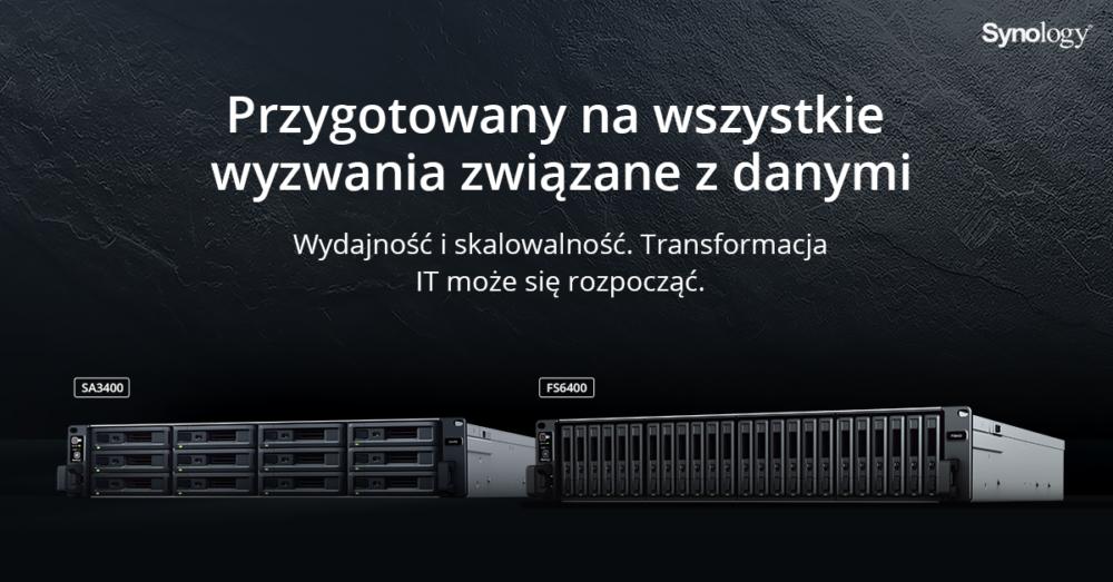 Synology wprowadza modele FS6400 i SA3400