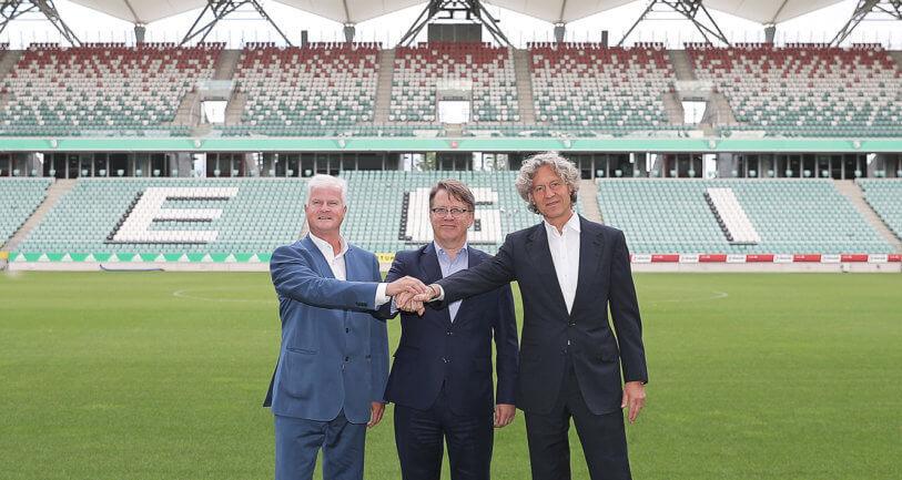 Sieć 4G i specjalne strefy 5G na stadionie Legii. Ericsson, PLAY i Legia Warszawa uruchamiają wspólny projekt