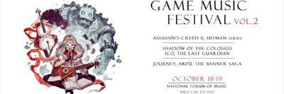 Druga edycja Game Music Festival we Wrocławiu, 18-19 października 2019