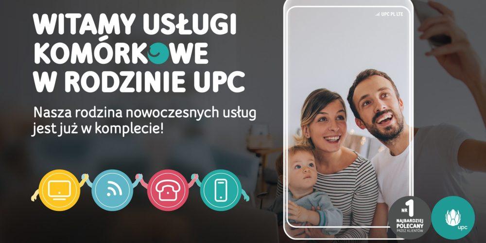 UPC Polska wprowadza ofertę konwergentną. Zaoferuje klientom najkorzystniejszą ofertę internetu światłowodowego, usług mobilnych i telewizji