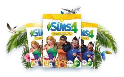 """""""Wyspiarskie życie"""" do gry The Sims 4"""