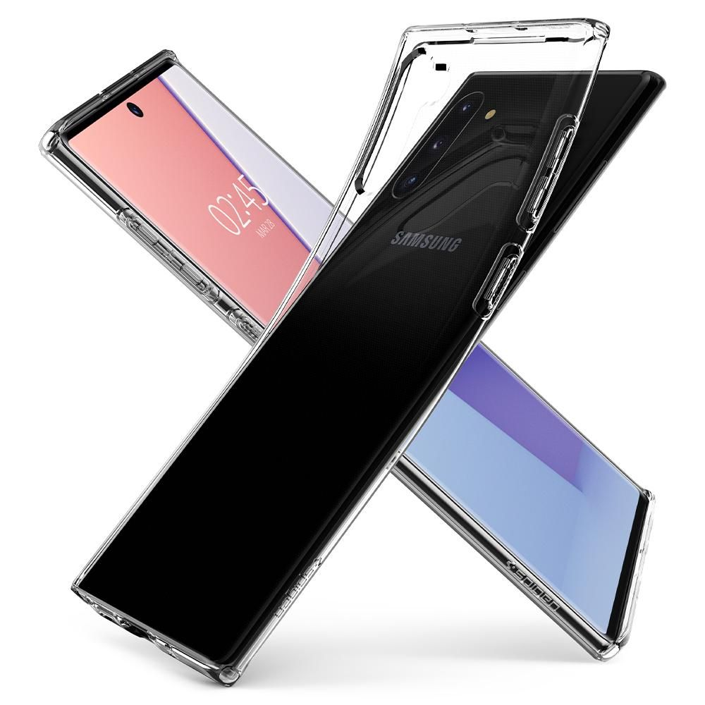 10 maSPIGEN LIQUID CRYSTAL GALAXY NOTE 10 CRYSTAL CLEARx