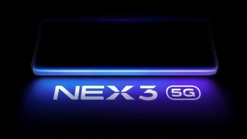 """Vivo NEX 3 5G smartfon z ekranem - """"wodospadem"""" zaprezentują we wrześniu"""