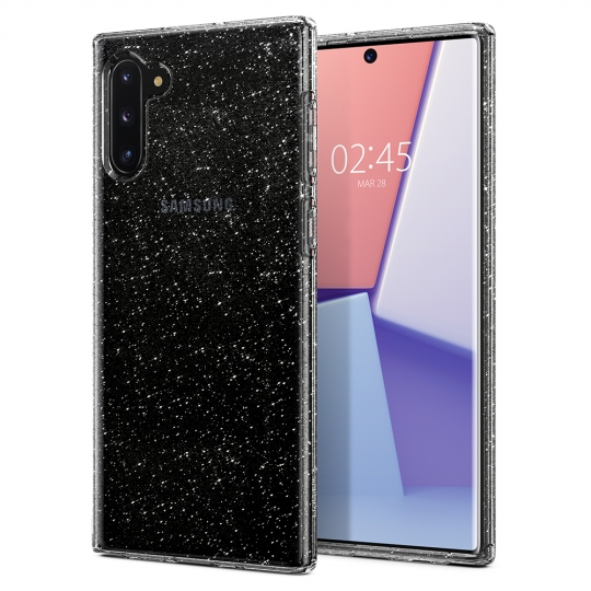 SPIGEN LIQUID CRYSTAL GALAXY NOTE 10 GLITTER CRYSTAL