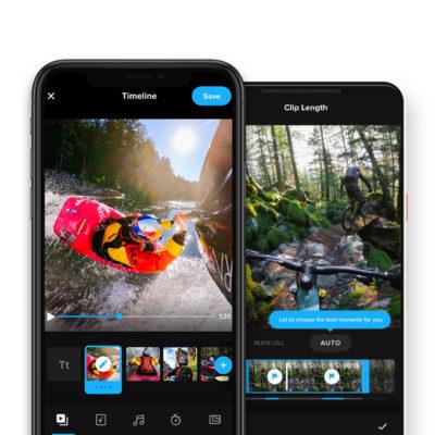 Razem raźniej: z połączenia aplikacji GoPro i Quik powstało jedno niezwykłe narzędzie do montażu na urządzeniach przenośnych