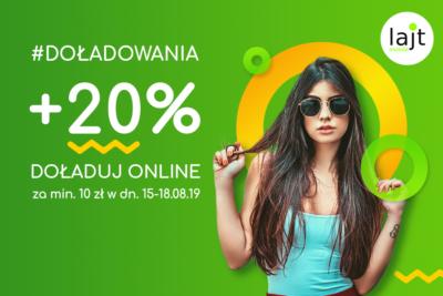 Wakacyjne + 20% od lajt mobile
