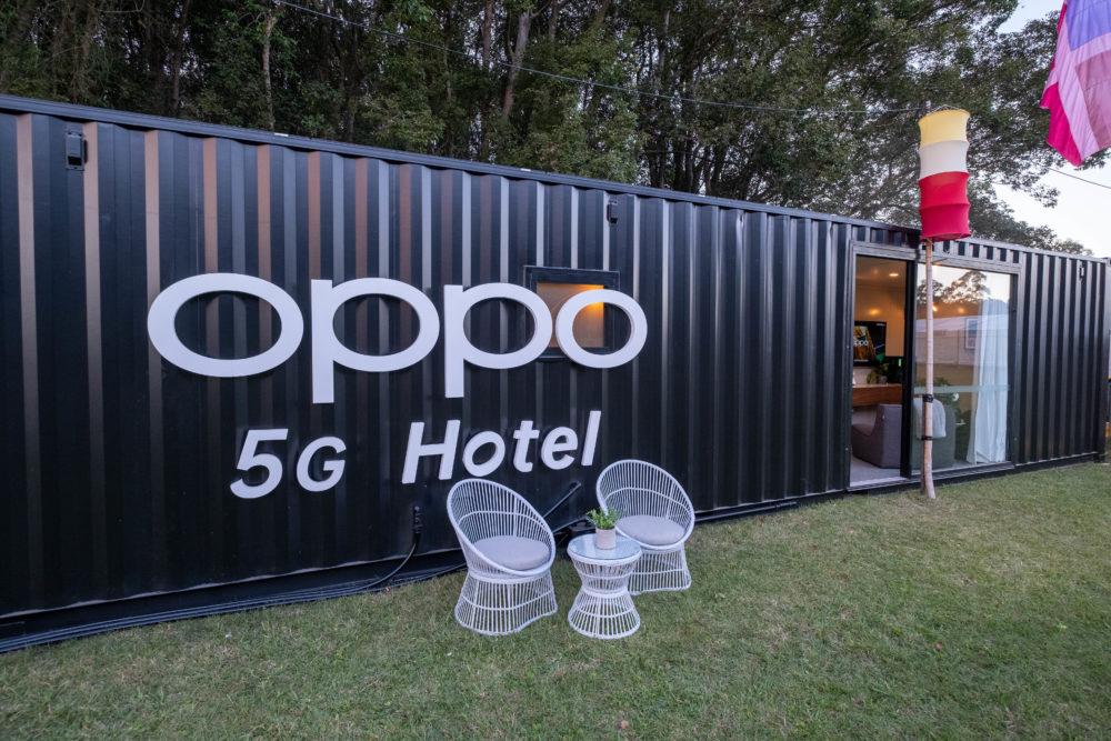 OPPO prezentuje pierwszy na świecie hotel 5G