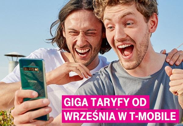 Internetowa ofensywa – Giga Taryfy od września w ofercie T‑Mobile. Do 5 razy więcej danych przy pełnej prędkości w najlepszej sieci w Polsce