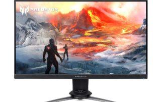 Acer przedstawia nowy monitor Predator dla graczy z częstotliwością odświeżania 240 Hz i czasem reakcji G2G do 0,4 ms