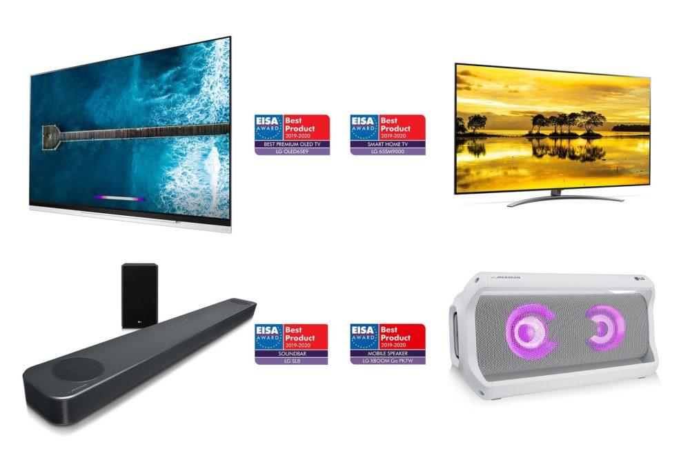 Nagrody EISA dla LG: Najlepszy telewizor OLED klasy Premium i trzy inne nagrody