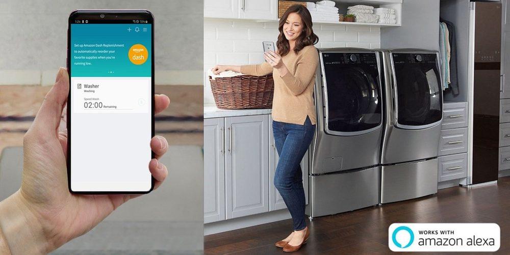 LG zaprezentuje połączenie technologii ThinQ z usługą Amazon Dash Replenishment na targach IFA 2019 w Berlinie