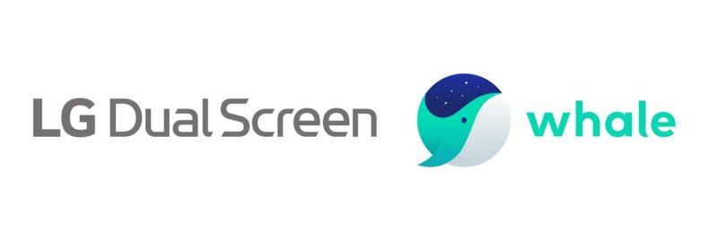 W połączeniu z dodatkowym wyświetlaczem smartfona LG Dual Screen, Whale zapewnia użytkownikom zupełnie nowe możliwości wynikające z łatwego i szybkiego przechodzenia między dwoma ekranami przeglądarki.