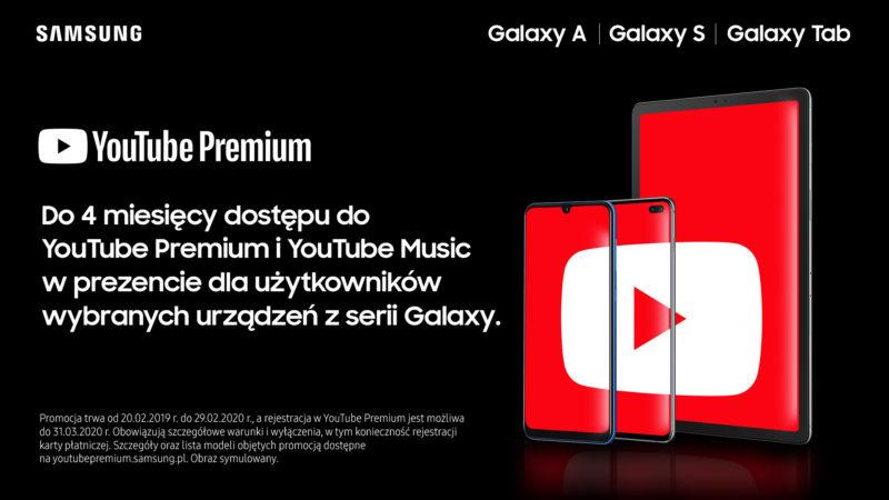 Do 4 miesięcy bezpłatnej rozrywki dla użytkowników wybranych urządzeń Samsung Galaxy