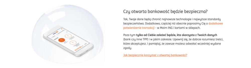 ING otwarta bankowość
