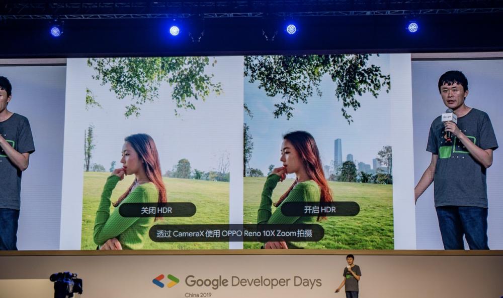 OPPO demonstruje możliwości nowego pakietu CameraX podczas Google Developer Days China 2019