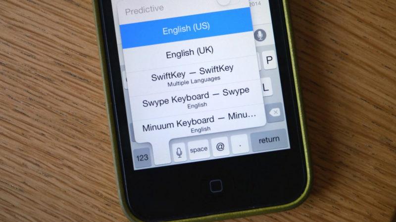 Firma Apple ostrzegła o niebezpieczeństwie innych iOS klawiatur