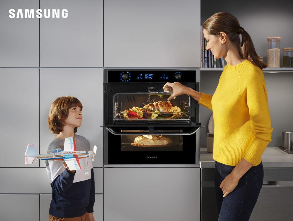 Przepis na idealne wnętrze z urządzeniami do zabudowy Samsung