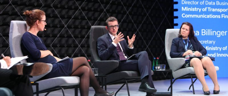Wiceminister Karol Okoński w Tallinie – szczyt cyfrowy i eID Forum