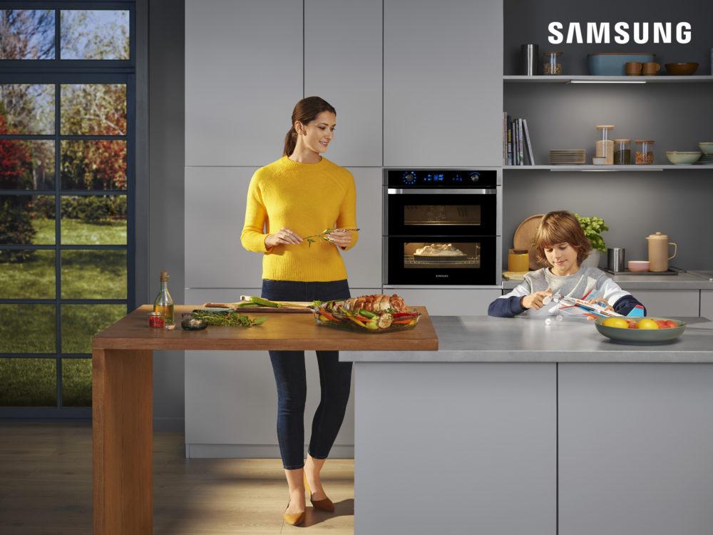 Przepis na idealne wnętrze z urządzeniami do zabudowy Samsung. Nowa promocja – zwrot aż do 1500 zł