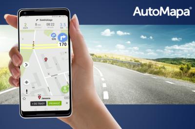 Dotknij i jedź! Nowa AutoMapa Android
