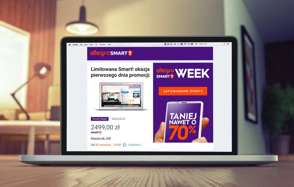 Premiera Allegro Smart! Week - nowego festiwalu zakupów ze zniżkami do 70%