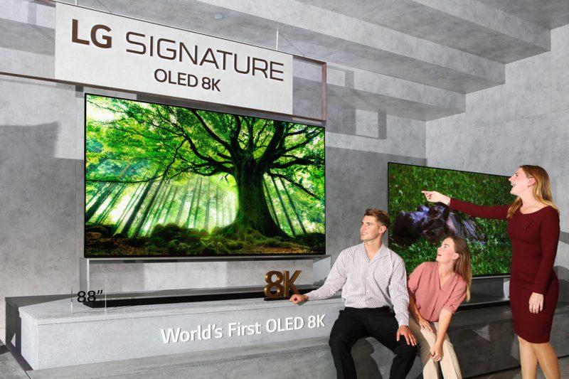LG rozpoczyna sprzedaż pierwszego na świecie telewizora o rozdzielczości 8K