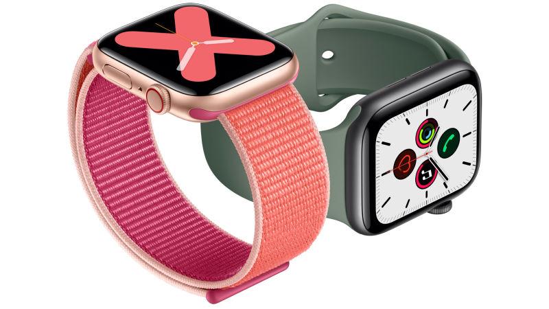 Apple Watch Series 5 z ciągle działającym ekranem 1