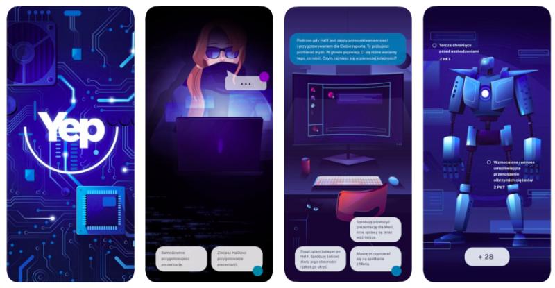 Platforma YEP.Academy udostępnia unikalną grę edukacyjną na smartfony, by wspierać młodych ludzi na rynku pracy