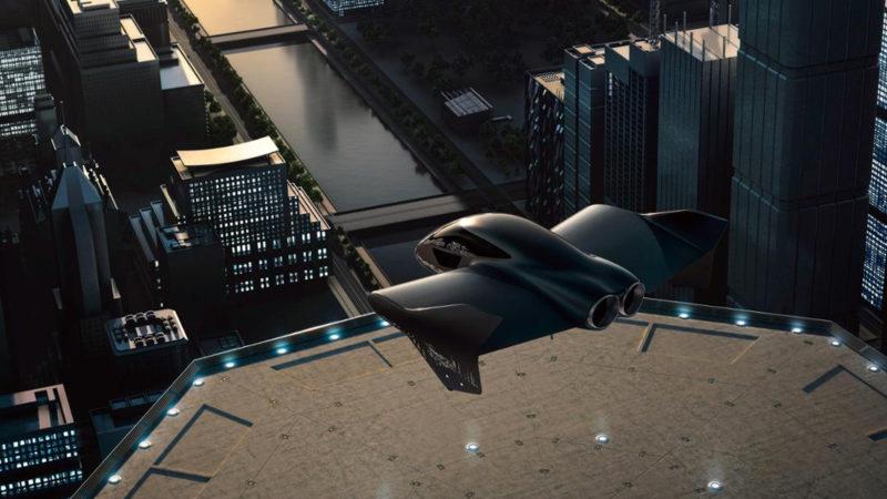 Boeing i Porsche stworzą elektryczny latający samochód