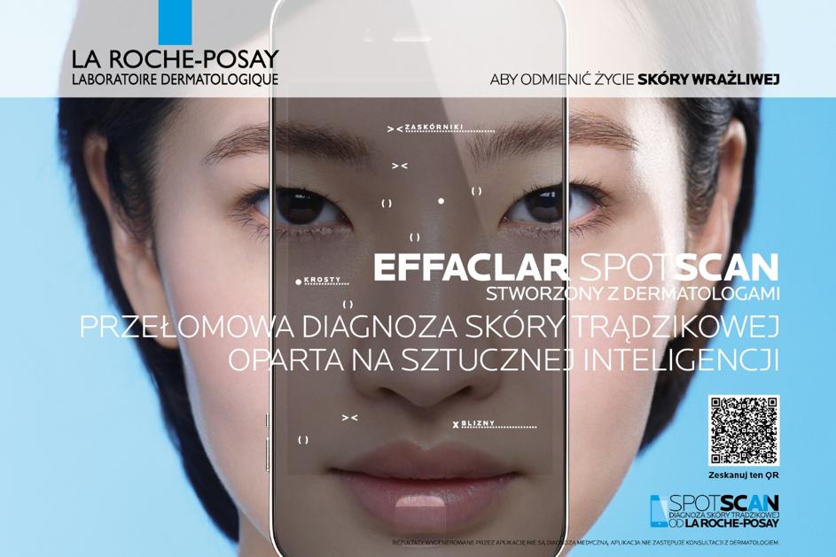 Effaclar spotscan przełomowa diagnoza skóry trądzikowej  oparta na sztucznej inteligencji