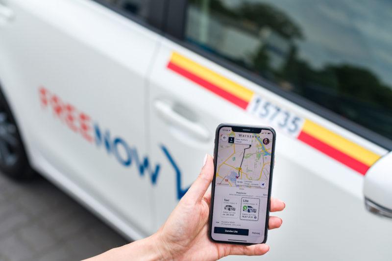 FREE NOW w Polsce rośnie o 140% rok do roku i intensywnie rekrutuje kierowców