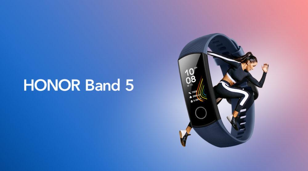 Monitorowanie poziomu tlenu w krwi –nowa funkcja w opasce HONOR Band 5