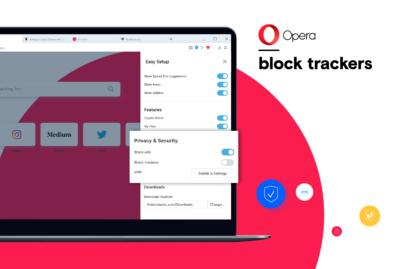Przeglądarka Opera o 20 procent szybsza dzięki ulepszonym funkcjom prywatności