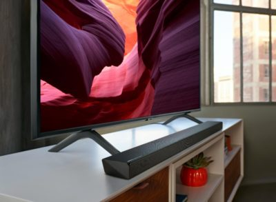 Telewizor QLED z rabatem na soundbar