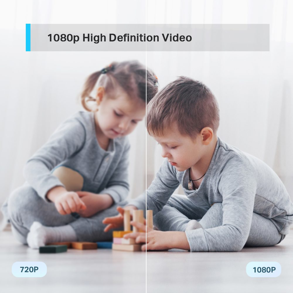 TP-Link Tapo C200 - obrotowa kamera WiFi do monitoringu domowego