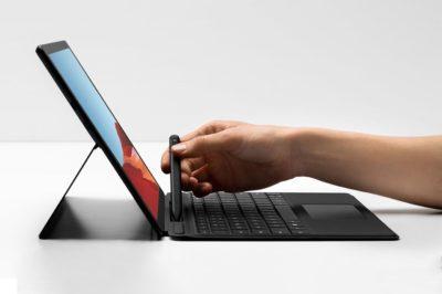 Das Surface Pro 7 hat einen USB-Typ-C-Port.