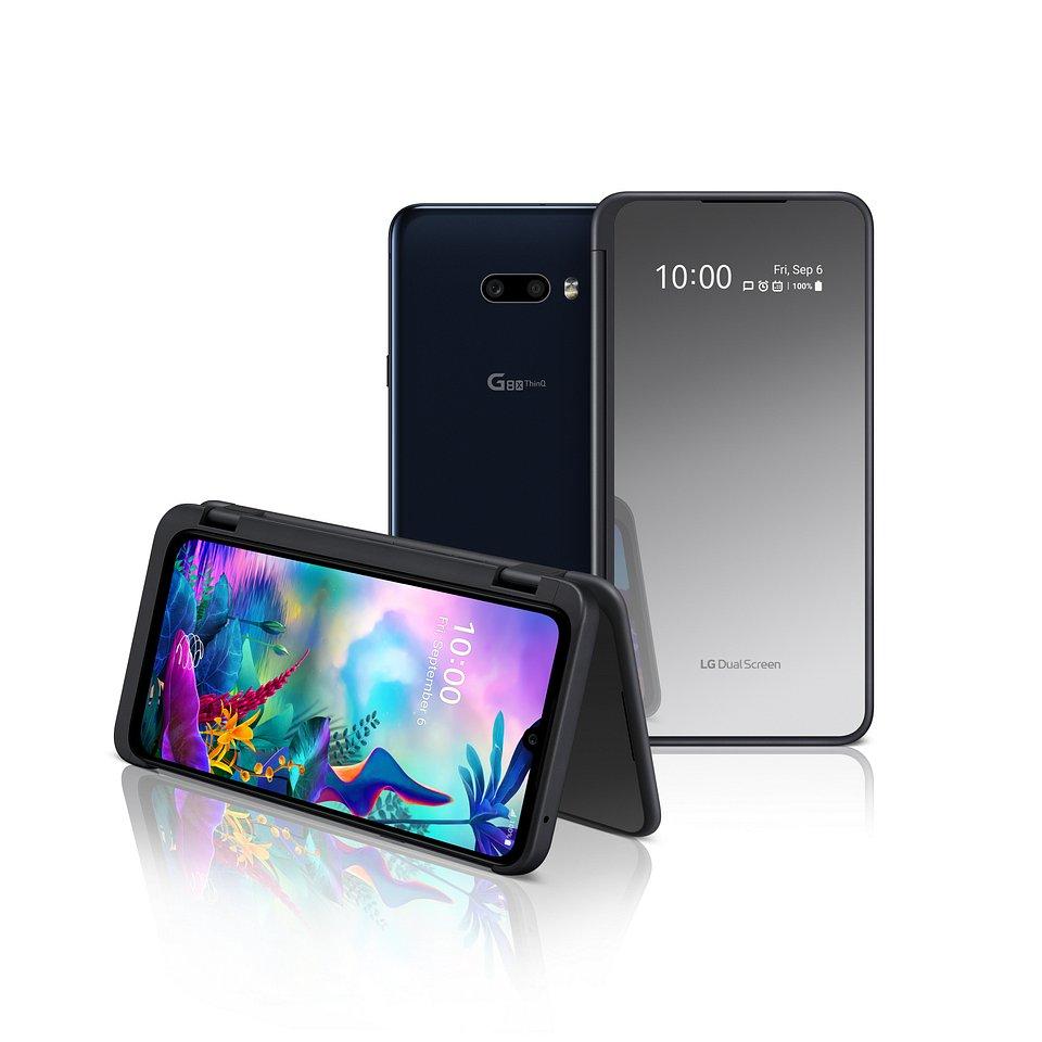 Składany i podwójnie praktyczny smartfon LG G8X ThinQ z dodatkowym ekranem LG Dual Screen trafia do sprzedaży na globalne rynki