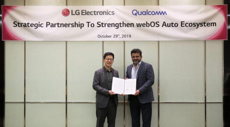 LG i Qualcomm łączą siły w rozwijaniu systemu webOS Auto, przeznaczonego do nowej generacji samochodów