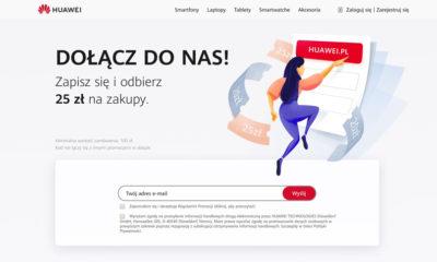Kupony rabatowe dla aktywnych w sklepie huawei.pl