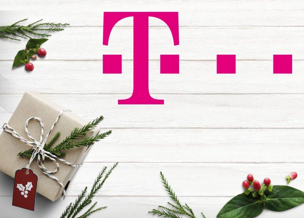 święta prezenty T Mobile logo fot. Pexels