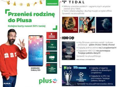 Teraz TIDAL, HBO i Liga Mistrzów UEFA przez trzy miesiące w prezencie